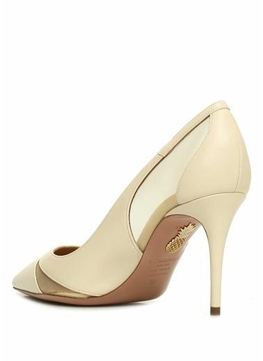 Aquazzura Ayakkabı Krem